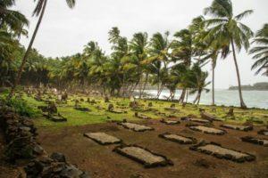 Cimetière marin du bagne de Cayenne